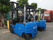BYD Counterbalance Lift Truck , BYD Electric Forklift 3.5 Ton Load Capacity With 4 Wheel